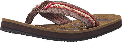 Levi's Mens Kyle Casual J Sandals in Brown/Dark Brown 7 M US