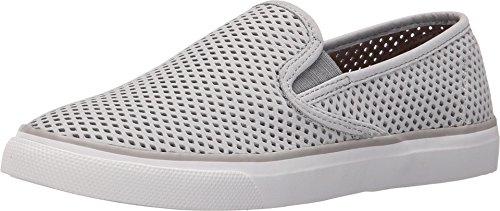 - SPERRY Women's Seaside Fashion Sneaker, Grey, 8 M US
