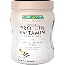Nature's Bounty Optimal Solutions Complete Protein & Vitamin Shake Mix Vanilla Bean - 16 oz by Nature's Bounty