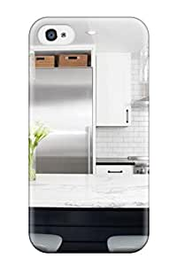 Kimberly York's Shop New Style Fashion Protective High-contrast Kitchen In Noe Valley Case Cover For Iphone 4/4s