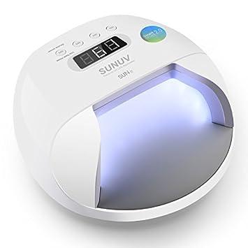 Sunuv Sun7 48w Uv Nail Dryer Led Nail Lamp Smart Light For Gel Nails