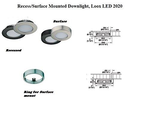 ed Downlight, Loox LED 2020, 12V, Polished chrome, cool white 4000 K ()