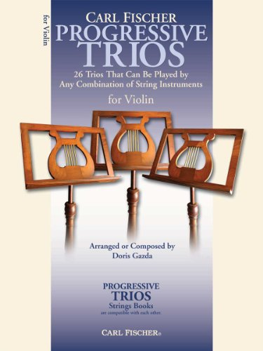 (BF62 - Progressive Trios for Violin)