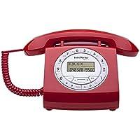 Telefone com Fio, Intelbras, TC 8312, Vermelho