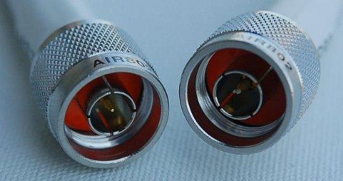 AIR802 CA400FLEX White Antenna Cable Assembly, N Plug (Male) to N Plug (Male), 50 Feet (15.24 m)