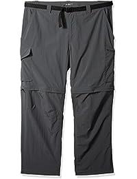 Men's Silver Ridge Big & Tall Convertible Pants, Grill, 44 x 30