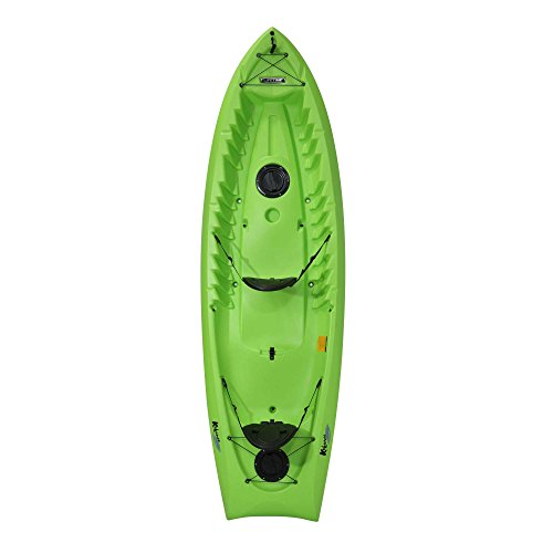 """081483015347 - Lifetime Kokanee Sit-On-Top Kayak, Lime, 10'6"""" carousel main 0"""