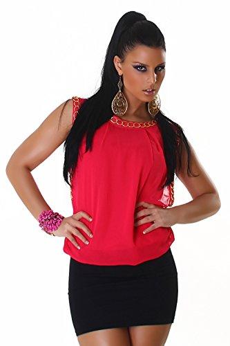 Voyelles - Vestido - Noche - Básico - Sin mangas - para mujer rosa 38