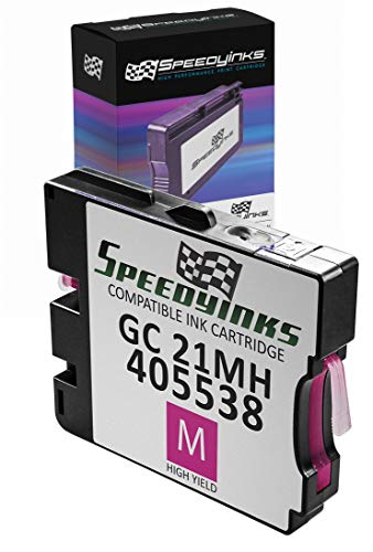 - Speedy Inks Compatible Ink Cartridge Replacement for Ricoh 405538 High-Yield (Magenta)