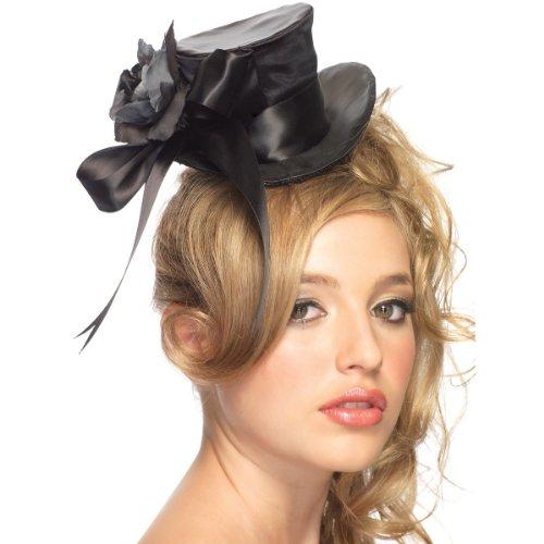 Satin Mini Top Hat Costume Accessory -