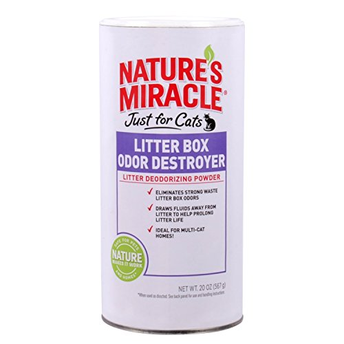 t for Cats Odor Destroyer Litter Powder, 20 oz ()