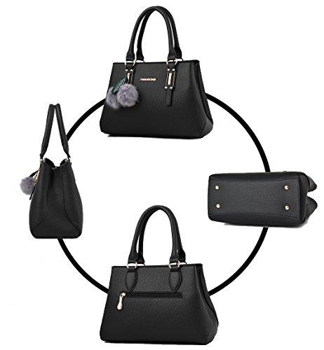 Messenger Bolsa Caqui RUIREN Bag Shoulder Femenina Portátil de Compras qg6wRp4a