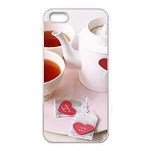Afternoon Tea Unique Design Cover Case with Hard Shell Protection for Iphone 4s Case lxa#4s1214s