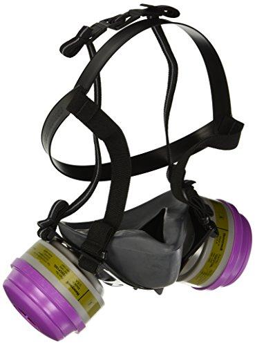 5500 Series Half Mask with 2 Defender Multie Purpose/P100 cartridges Sizes Medium - Respirators Series 5500 Half Mask