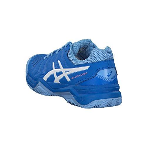 bleu Challenger Femme Chaussures Clay Gel Tennisschuh blanc Tennis 11 de Asics Ãlectrique FzfwgE