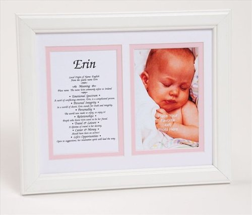 Townsend FN05Violet Personalized Matted Frame With The Name & Its Meaning - Framed44; Name - Violet