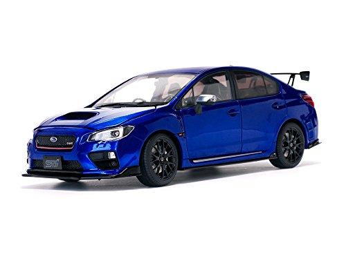 Sunstar Diecast Cars (2015 Subaru WRX STi S207 NBR Challenge Package Blue Limited Edition to 3888 pieces Worldwide 1/18 Diecast Model Car by Sunstar 5552)