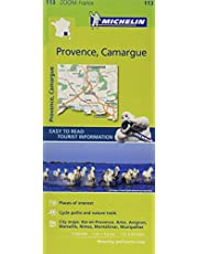 Provence Camargue Map MH113 1:160,000