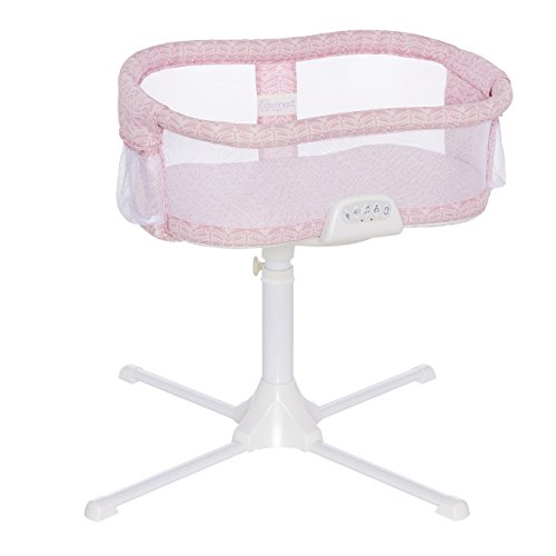 Halo Bassinest Swivel Sleeper Premiere Series Bassinet, Rose Leaf