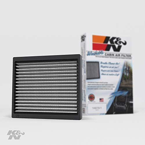 K&N Cabin Air Filter: Washable and Reusable: Designed For Select 2005-2014 Ford Mustang Vehicle Models, VF2020