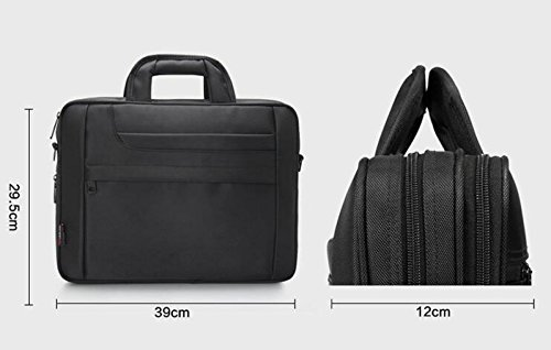 Briefcase Oxford Laptop Computer Bag Myll Business Leisure Black Messenger Shoulder PS76FwUqxw