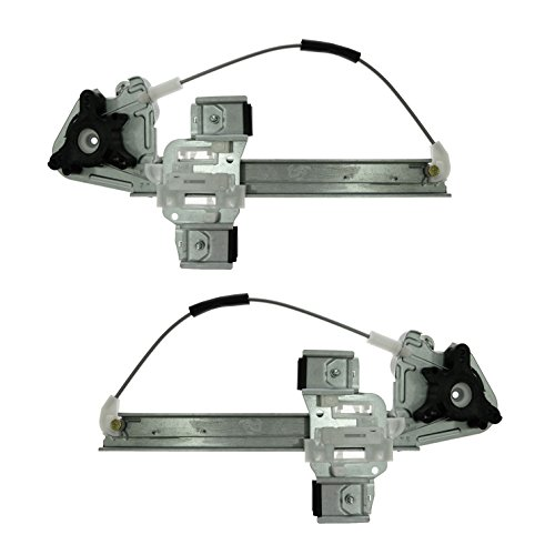 Rear Door Window Regulator Left & Right Pair Set of 2 for Pontiac Bonneville (Pontiac Bonneville Set)