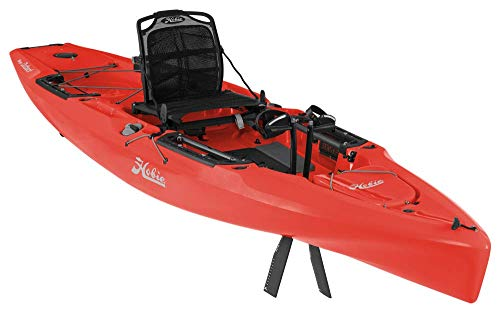 Hobie 2020 Mirage Outback with Kick Up Turbo Fins (Red)