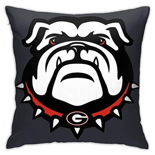 georgia bulldogs couch throw - 5