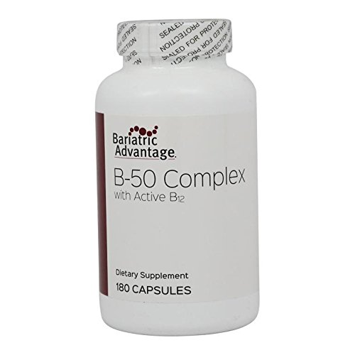 Bariatric Advantage - B-50 Complex Capsules, 180 Count