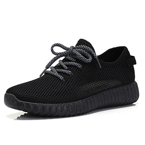 Primavera Verano Fondo Nan de mujer Corrientes Zapatos Tricolor de y Sueltos Red Plano Negro Zapatos Zapatos Transpirable Zapatos qxnXtBHHwp