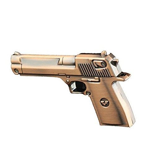 Phoenixnet Coppery Gun USB Flash Drive USB 2.0 Gun Shape USB Memory Stick 8G Unique Design