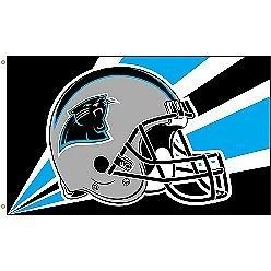 Carolina Panthers NFL Helmet Design 3'x5' Banner Flag