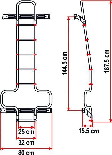 Fiamma 02426‐09‐ Scalette Deluxe Dj