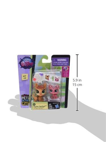 Littlest Pet Shop Pet Pawsabilities Daphne Deerheart /& Fauna Deerheart Hasbro B4762AS0