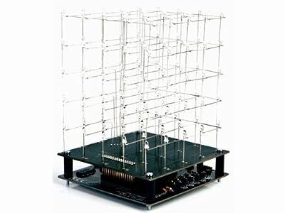 Velleman K8018B 3D Led Cube 5 X 5 X 5 (Blue Led)