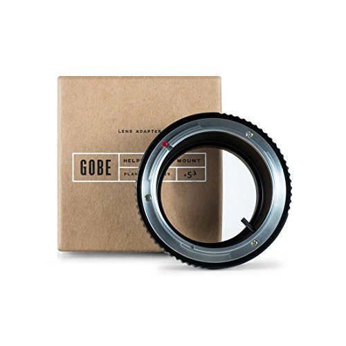 Gobe Lens Adapter: Compatible with Canon FD-Mount Lens and Sony E-Mount Camera Body