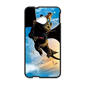 Black bat and man Cell Phone Case for HTC One M7