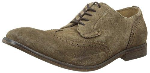 Hudson Rowe - Zapatos Hombre Marron (Suede Tobacco)