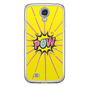Pow Samsung Galaxy S4 Transparent Edge Case - Comic Collection