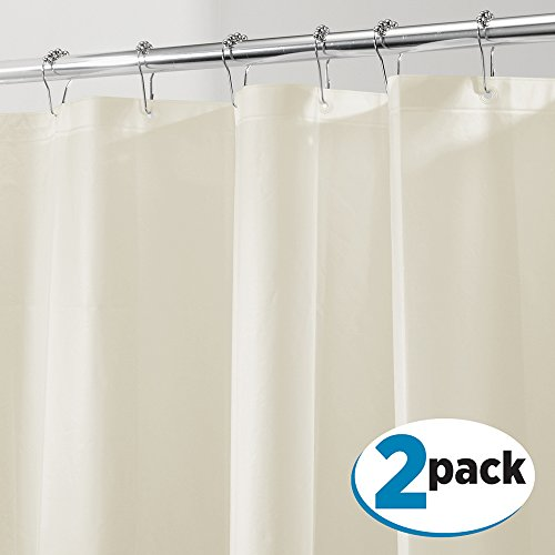 mdesign-peva-3g-shower-curtain-liner-pack-of-2-eco-friendly-mold-mildew-resistant-odorless-no-chemic