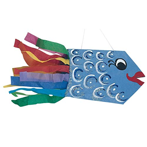 S&S Worldwide Catch The Fish Tail Craft Kit (Pack of 28)