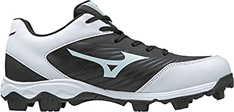 444743f0996 Mizuno 320553.9000.10.1000 9 Spike ADV Youth Franchise 9 10 Black White  Footwear