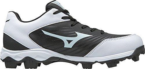 - Mizuno 320553.9000.10.1000 9 Spike ADV Youth Franchise 9 10 Black/White Footwear