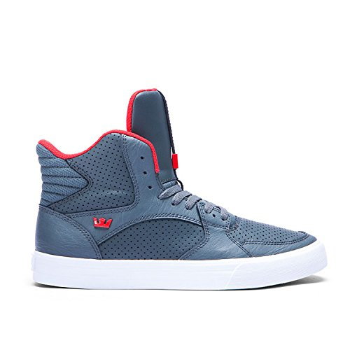SUPRA Skateboard Shoes VAIDER 3000 FOREST GREEN/RED-WHIT