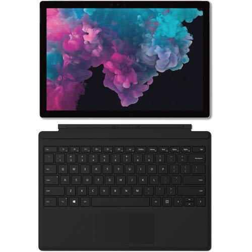 "Microsoft 2019 Surface Pro 6 12.3"" (2736x1824) PixelSense 267 PPI 10-Point Touch Display Tablet PC W/Surface Type Cover, Intel Quad Core 8th Gen i5-8250U, 8GB RAM, 128GB SSD, Windows 10, Platinum"
