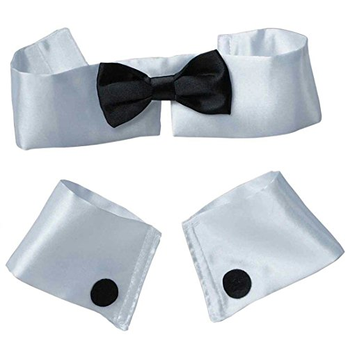 Collar Tie Cuff Costume Accessory Kit -