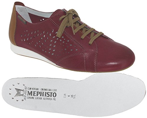 Mephisto BELISA PERF Rouge Rouge 7988 Baskets w4Oq6a
