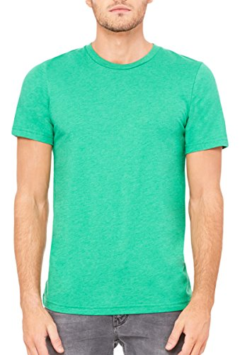 Bella + Canvas Unisex Jersey Short Sleeve Tee (Heather Kelly) -