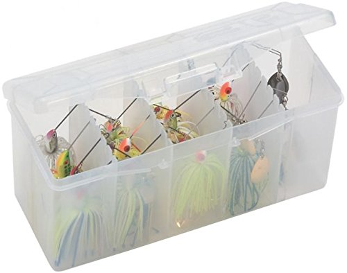 Plano Spinner Bait Box with Removable Racks Tackle Spinnerbait Bait