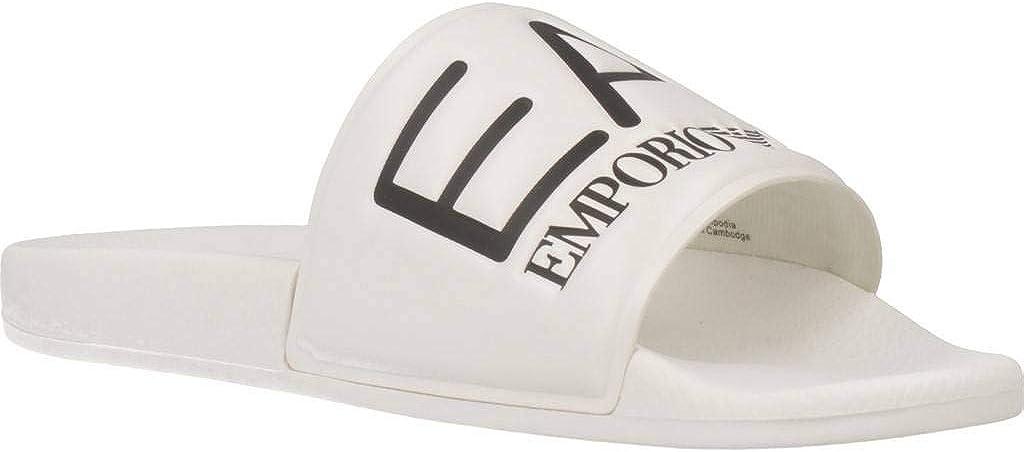 Ea7 Visibility Sandals White 9.5 UK